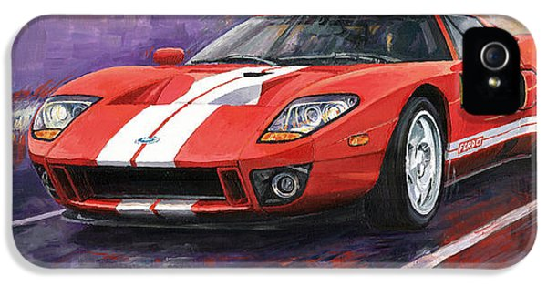 Ford Gt 2005 IPhone 5 / 5s Case by Yuriy  Shevchuk