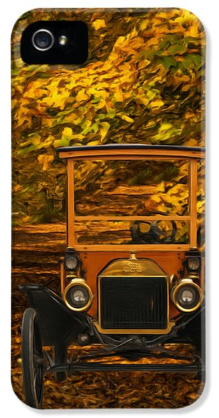 Fabrication iPhone 5 Cases - Ford iPhone 5 Case by Jack Zulli