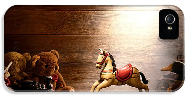 Forgotten iPhone 5 Cases - Forgotten Toys iPhone 5 Case by Olivier Le Queinec