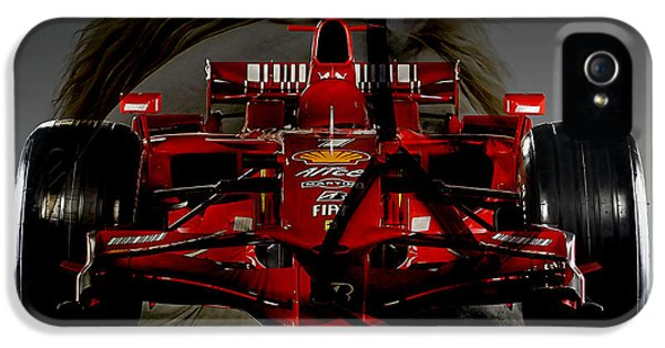 Ferrari iPhone 5 Cases - Formula One Horse Power iPhone 5 Case by Marvin Blaine