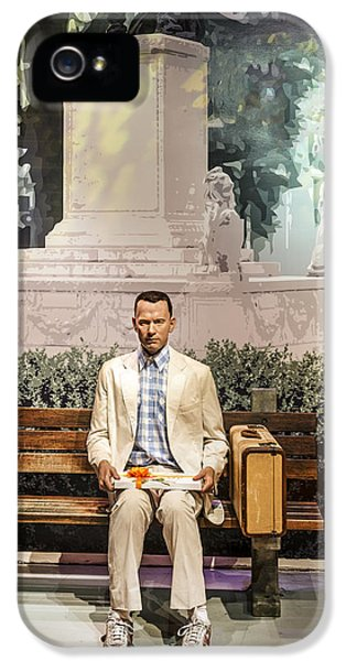 Forrest iPhone 5 Cases - Forrest Gump iPhone 5 Case by Mountain Dreams