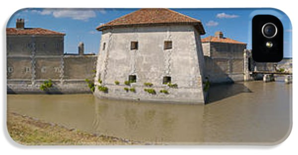 Lupin iPhone 5 Cases - Fort Lupin, Saint-nazaire-sur-charente iPhone 5 Case by Panoramic Images