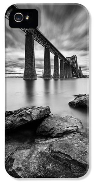 Connection iPhone 5 Cases - Forth Bridge iPhone 5 Case by Dave Bowman