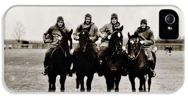 Four Horsemen IPhone 5 / 5s Case by Benjamin Yeager