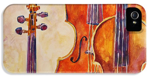 Four Violins IPhone 5 / 5s Case by Jenny Armitage