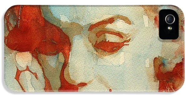 Actress iPhone 5 Cases - Fragile iPhone 5 Case by Paul Lovering