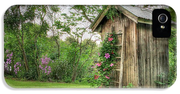 Rural iPhone 5 Cases - Fragrant Outhouse iPhone 5 Case by Lori Deiter