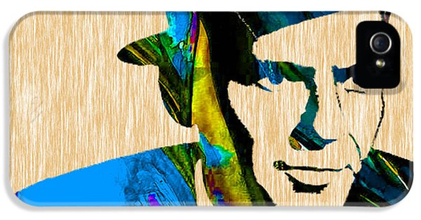 Frank Sinatra Art IPhone 5 / 5s Case by Marvin Blaine