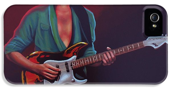 Composer iPhone 5 Cases - Frank Zappa iPhone 5 Case by Paul  Meijering