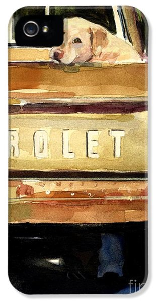 Free Ride IPhone 5 / 5s Case by Molly Poole