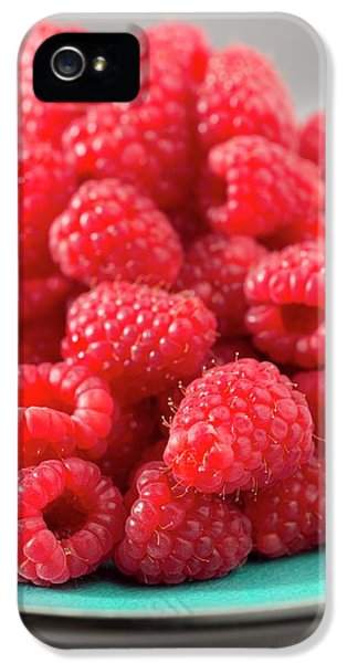 Fresh Raspberries IPhone 5 / 5s Case by Aberration Films Ltd
