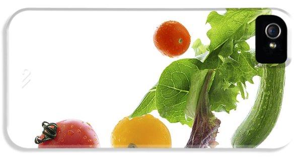 Fresh Vegetables Flying IPhone 5 / 5s Case by Elena Elisseeva