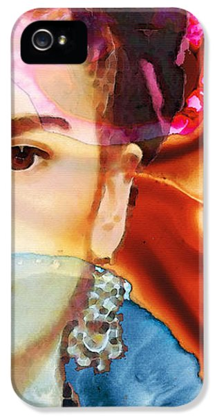 Cool iPhone 5 Cases - Frida Kahlo Art - Seeing Color iPhone 5 Case by Sharon Cummings