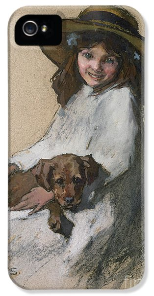 Bff iPhone 5 Cases - Friends iPhone 5 Case by Elizabeth Adela Stanhope Forbes