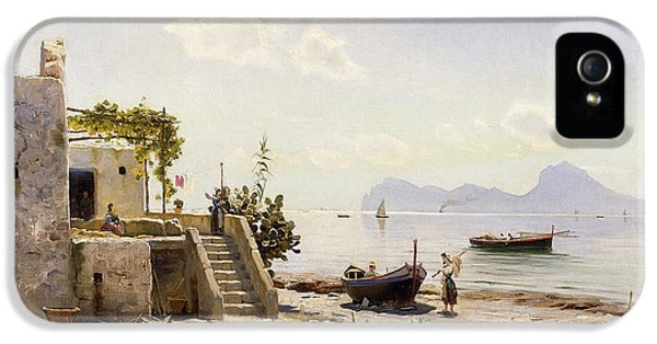 Scandinavian iPhone 5 Cases - From Sorrento Towards Capri iPhone 5 Case by Peder Monsted