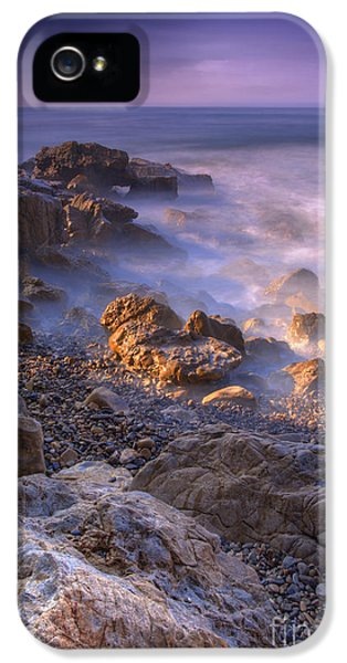Newport Beach iPhone 5 Cases - Frothy Coast iPhone 5 Case by Marco Crupi