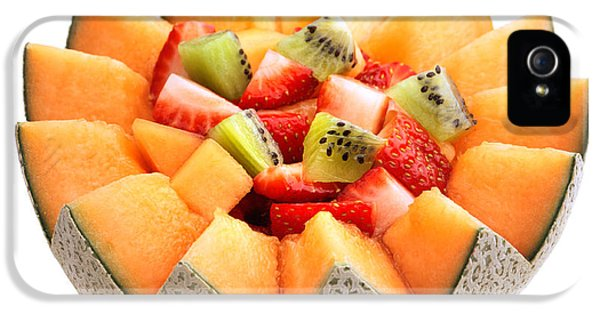 Cut-out iPhone 5 Cases - Fruit salad iPhone 5 Case by Johan Swanepoel