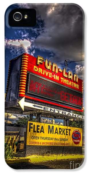 Theater iPhone 5 Cases - Fun-Lan iPhone 5 Case by Marvin Spates