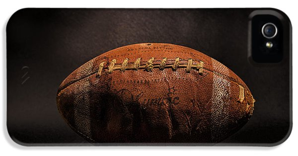 Sport iPhone 5 Cases - Game Ball iPhone 5 Case by Peter Tellone