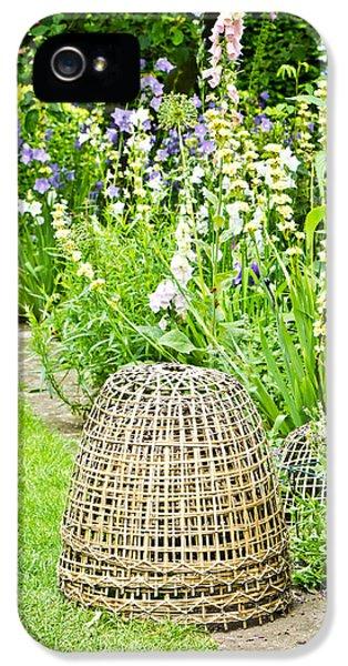 Fibre iPhone 5 Cases - Garden decoration iPhone 5 Case by Tom Gowanlock