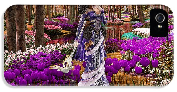 Garden Of Love IPhone 5 / 5s Case by Marvin Blaine