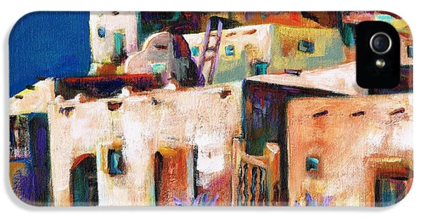 Gateway Into  The  Pueblo IPhone 5 / 5s Case by Frances Marino