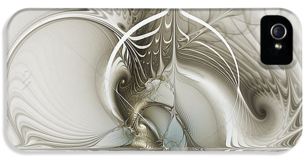 Futuristic iPhone 5 Cases - Gateway to Heaven-Fractal Art iPhone 5 Case by Karin Kuhlmann