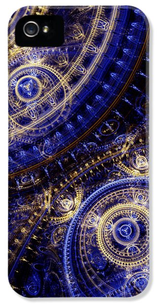 Scifi iPhone 5 Cases - Gears Of Time iPhone 5 Case by Martin Capek