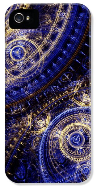 Gears Of Time IPhone 5 / 5s Case by Martin Capek