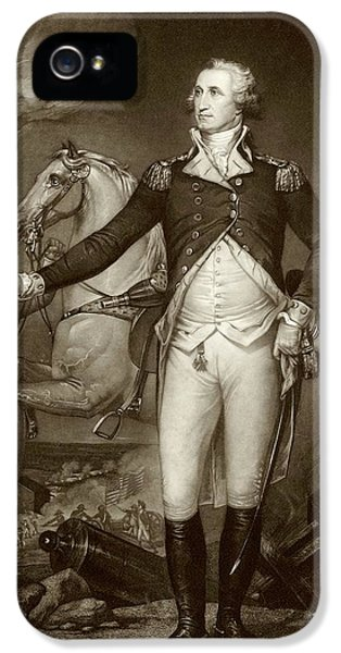General Washington At Trenton IPhone 5 / 5s Case by American Philosophical Society