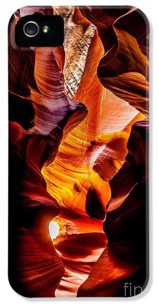 Swirls iPhone 5 Cases - Genie In A Bottle iPhone 5 Case by Az Jackson