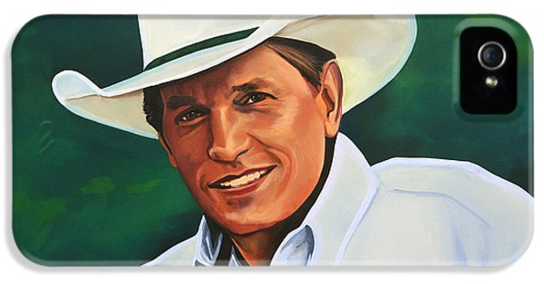 Festival iPhone 5 Cases - George Strait iPhone 5 Case by Paul  Meijering