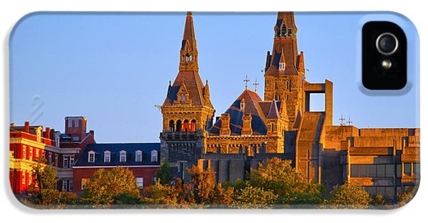 Georgetown University IPhone 5 / 5s Case by Mitch Cat