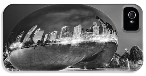 Cloud Gate iPhone 5 Cases - Ghosts in The Bean iPhone 5 Case by Adam Romanowicz