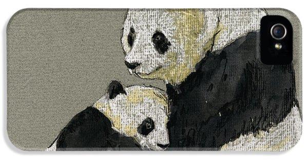Giant Panda IPhone 5 / 5s Case by Juan  Bosco