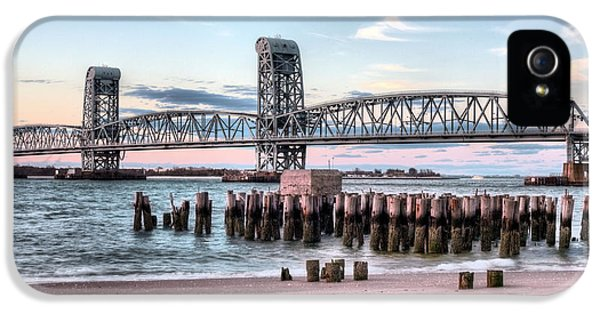 Gil iPhone 5 Cases - Gil Hodges Memorial Bridge iPhone 5 Case by JC Findley