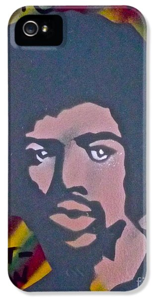 Gil iPhone 5 Cases - Gil Scott-Heron 2 iPhone 5 Case by Tony B Conscious