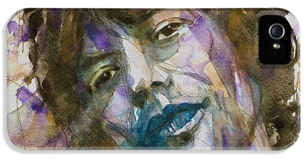 Face iPhone 5 Cases - Gimmie Shelter iPhone 5 Case by Paul Lovering