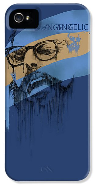 Historical iPhone 5 Cases - Ginsberg iPhone 5 Case by Pop Culture Prophet