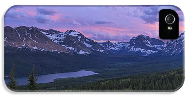 Medicine iPhone 5 Cases - Glacier Glow iPhone 5 Case by Chad Dutson