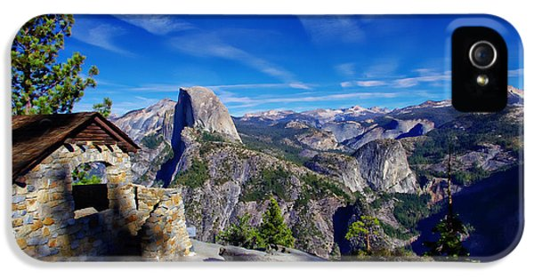 Glacier Point Yosemite National Park IPhone 5 / 5s Case by Scott McGuire