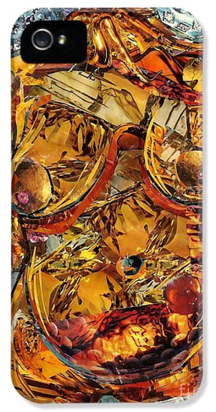Human Body iPhone 5 Cases - Glass Lady iPhone 5 Case by Sarah Loft