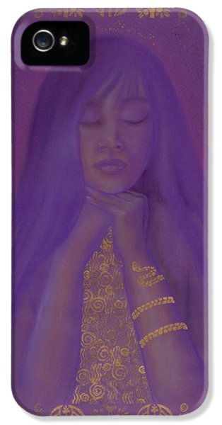 Fin De Siecle iPhone 5 Cases - Goddess of Regeneration iPhone 5 Case by Diana Perfect