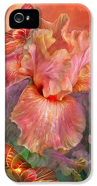 Goddess Of Spring IPhone 5 / 5s Case by Carol Cavalaris