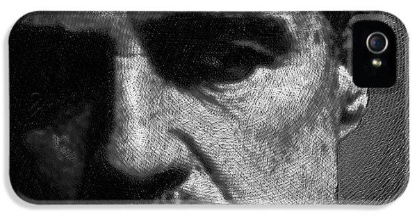 Coppola iPhone 5 Cases - Godfather Marlon Brando iPhone 5 Case by Tony Rubino