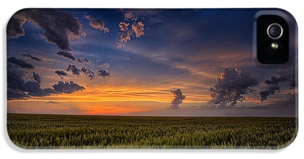 Wind iPhone 5 Cases - Gods Country iPhone 5 Case by Thomas Zimmerman