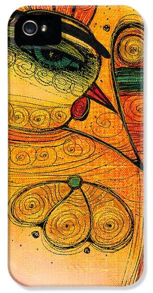 Albena iPhone 5 Cases - Golden Bird iPhone 5 Case by Albena Vatcheva