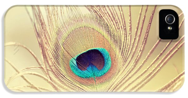 Golden Feather IPhone 5 / 5s Case by Amy Tyler