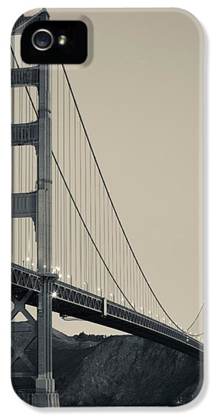 Build iPhone 5 Cases - Golden Gate Bridge From Fort Point iPhone 5 Case by Panoramic Images