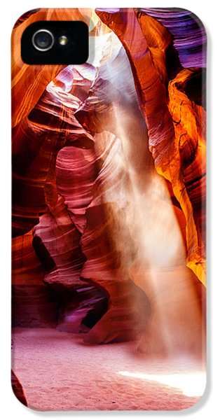 United States Of America iPhone 5 Cases - Golden Pillars iPhone 5 Case by Az Jackson